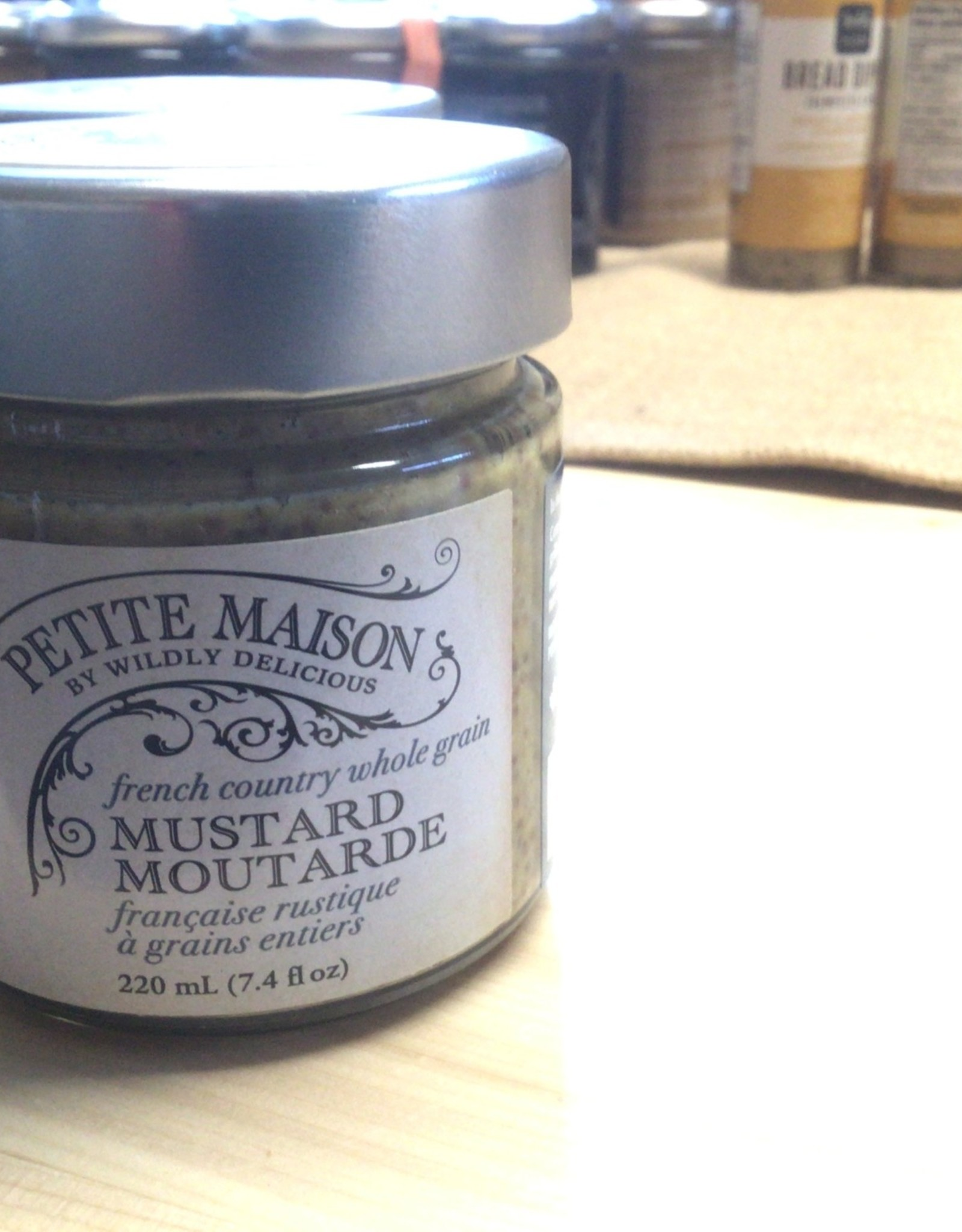 Wildly Delicious French Country Whole Grain Mustard
