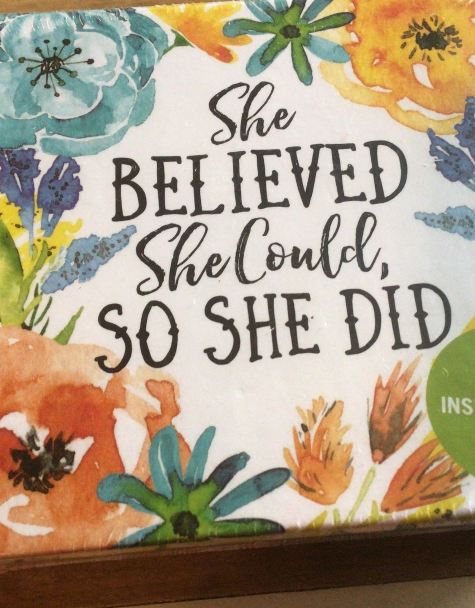 She Believed She Could, So She Did Insight Cards