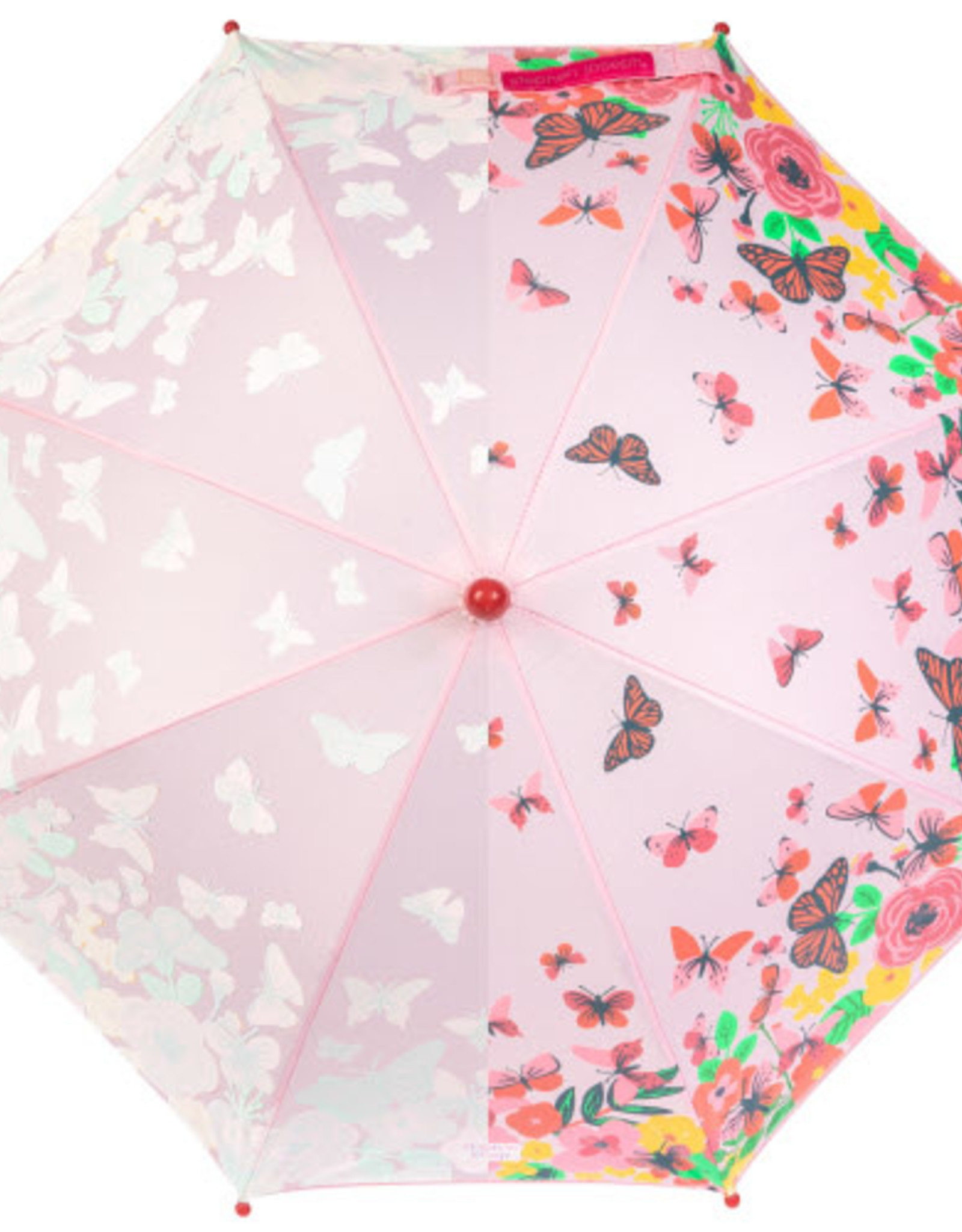 Stephen Joseph Kids colour changing umbrella butterfly