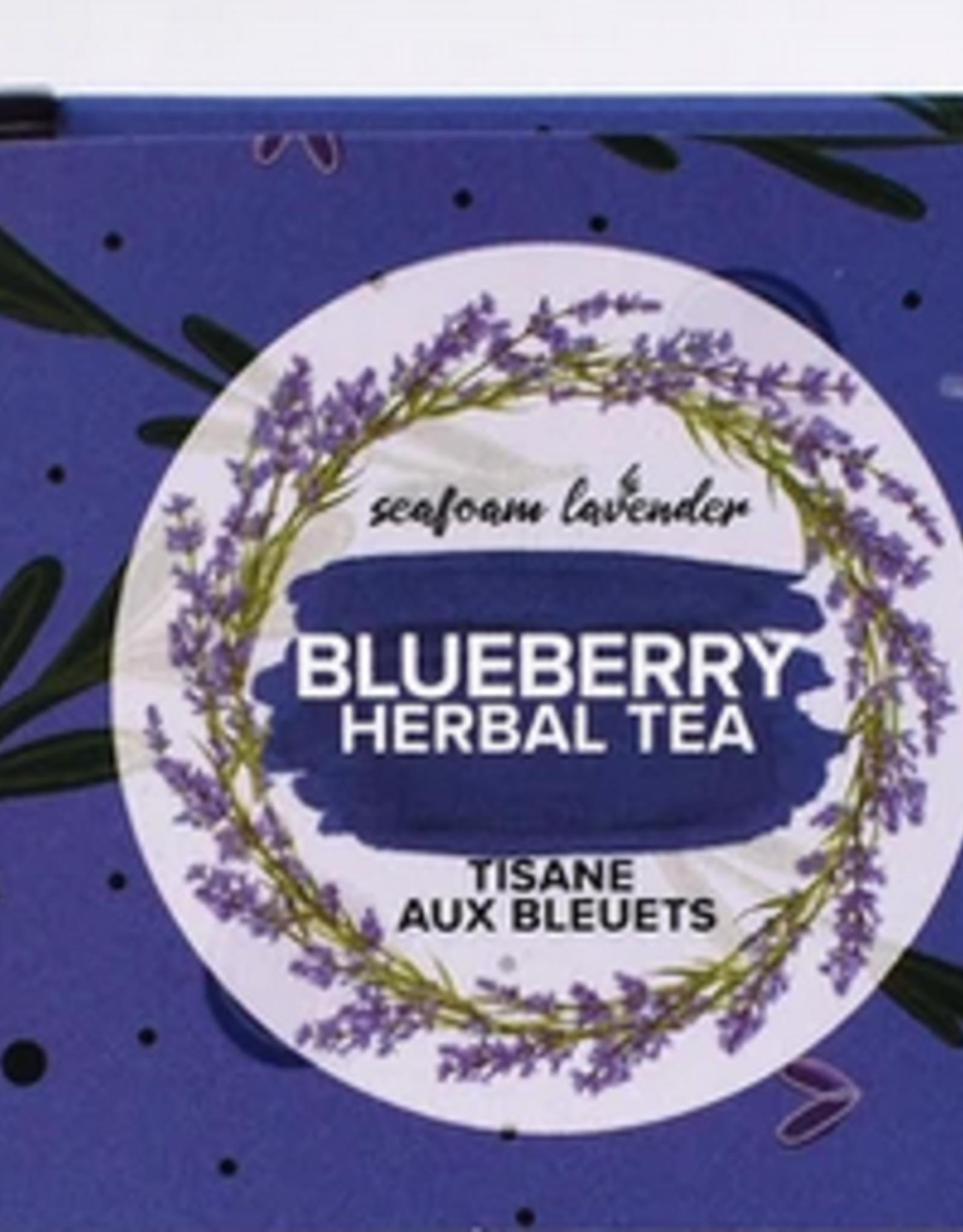 Seafoam & Lavender Blueberry Loose Leaf Tea  25 grams