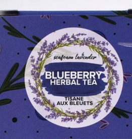 Seafoam & Lavender Blueberry Loose Leaf Tea  25 grams