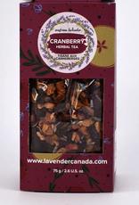 Seafoam & Lavender Cranberry Loose Leaf Tea  75 g