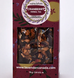 Seafoam & Lavender Cranberry Loose Leaf Tea  75 g