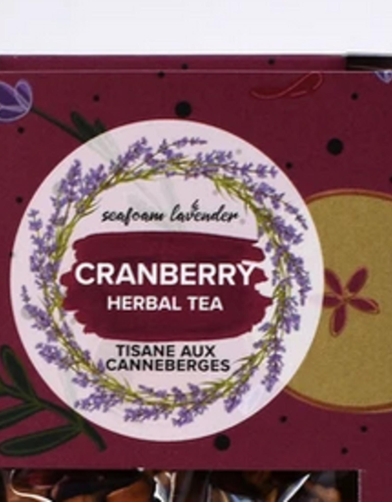 Seafoam & Lavender Cranberry Loose Leaf Tea 25 grams