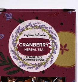 Seafoam & Lavender Cranberry Loose Leaf Tea 25 grams
