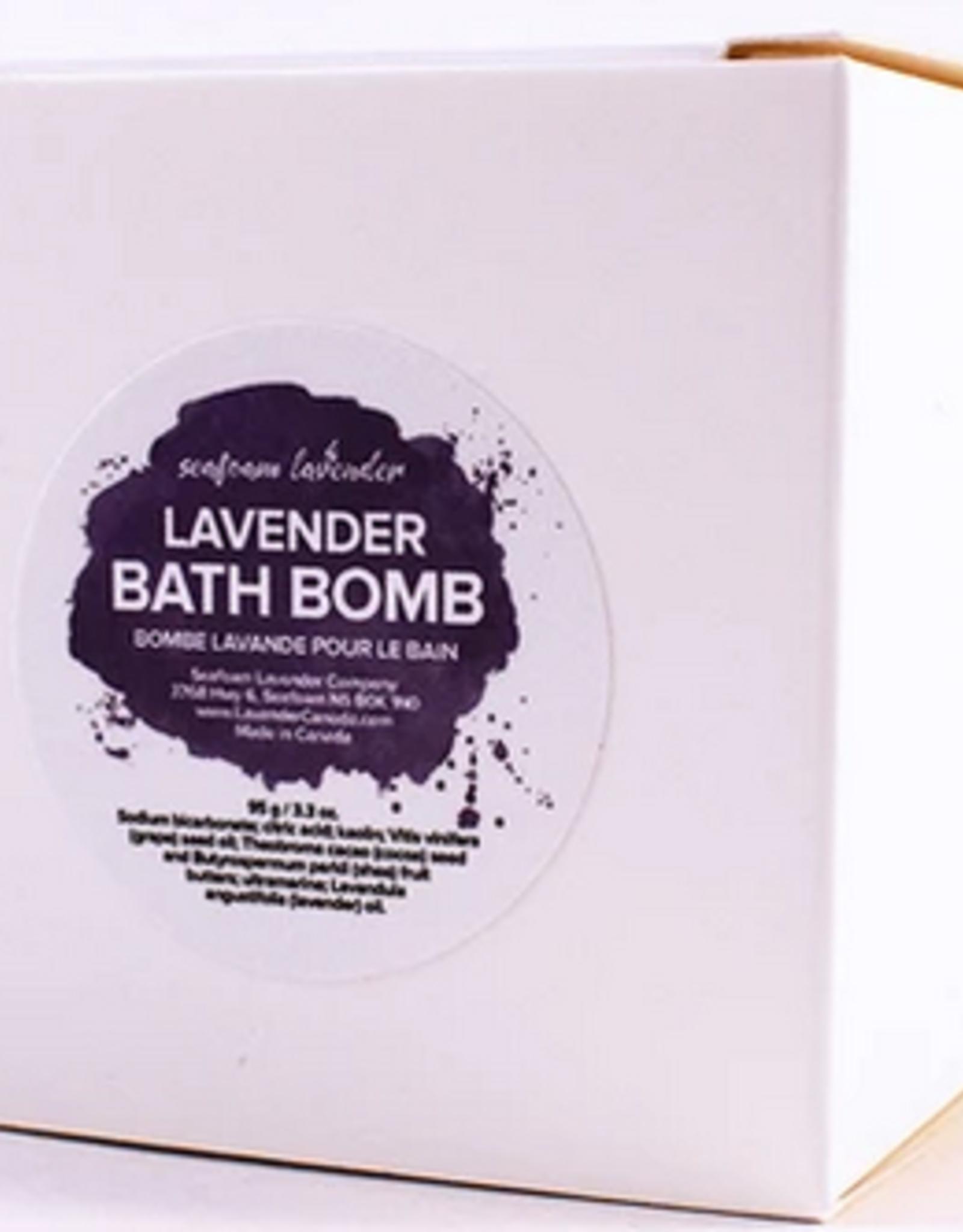 Seafoam & Lavender Bath Bomb Lavender