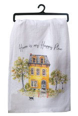 Home Is My Happy Place Flour Sack Towel