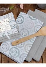 Handmade 3 set floursack towels