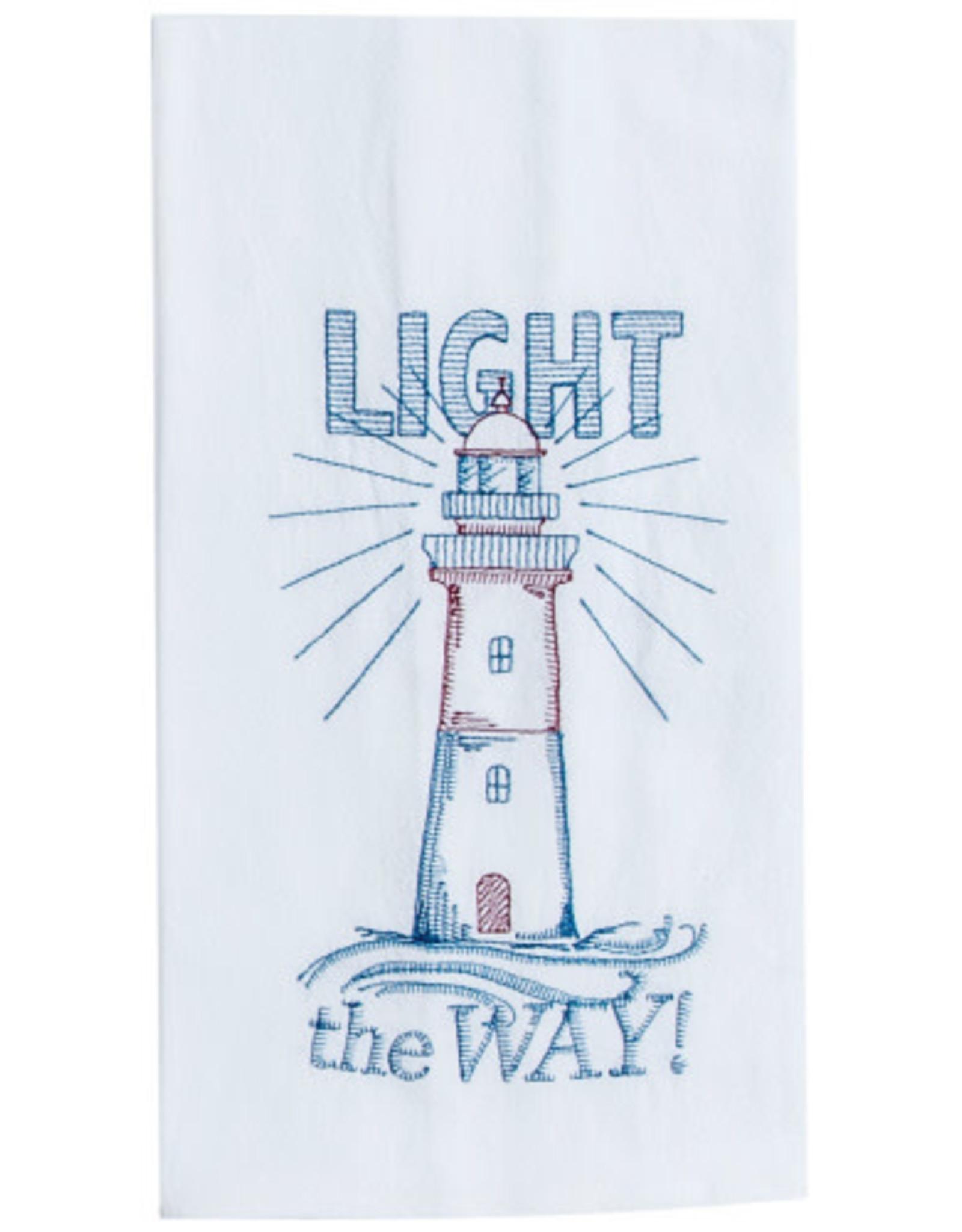 Light The Way Flour Sack Tea Towel