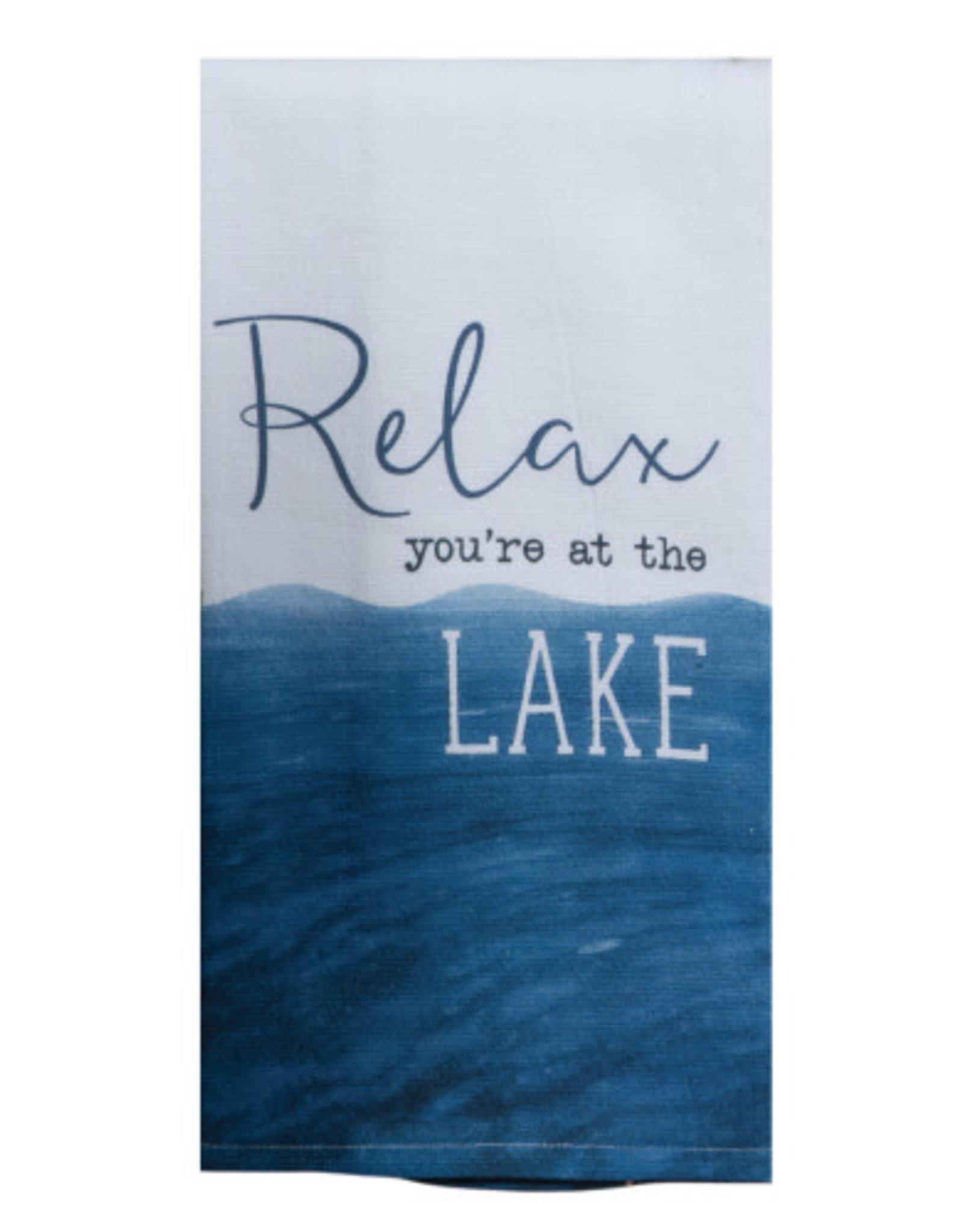 Relax You're at The Lake Dual Purpose Towel