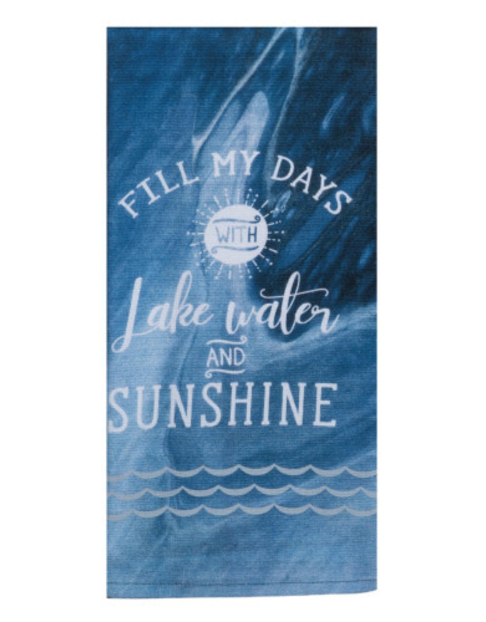 Fill My Days Dual Purpose Tea Towel