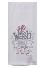 You Wash, I'll Dry Tea Towel