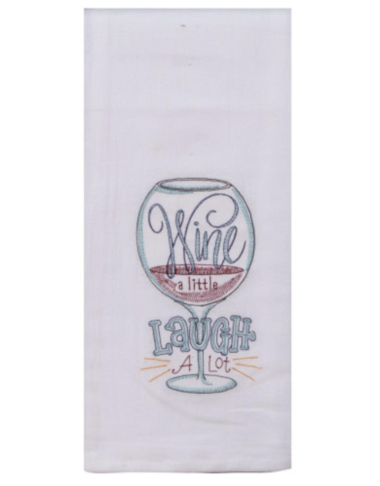Wine A Little Tea Towel