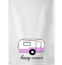 Koppers Happy Camper Tea Towel