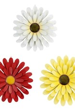 Koppers Metal Flowers  34 X 34 X 4 CM