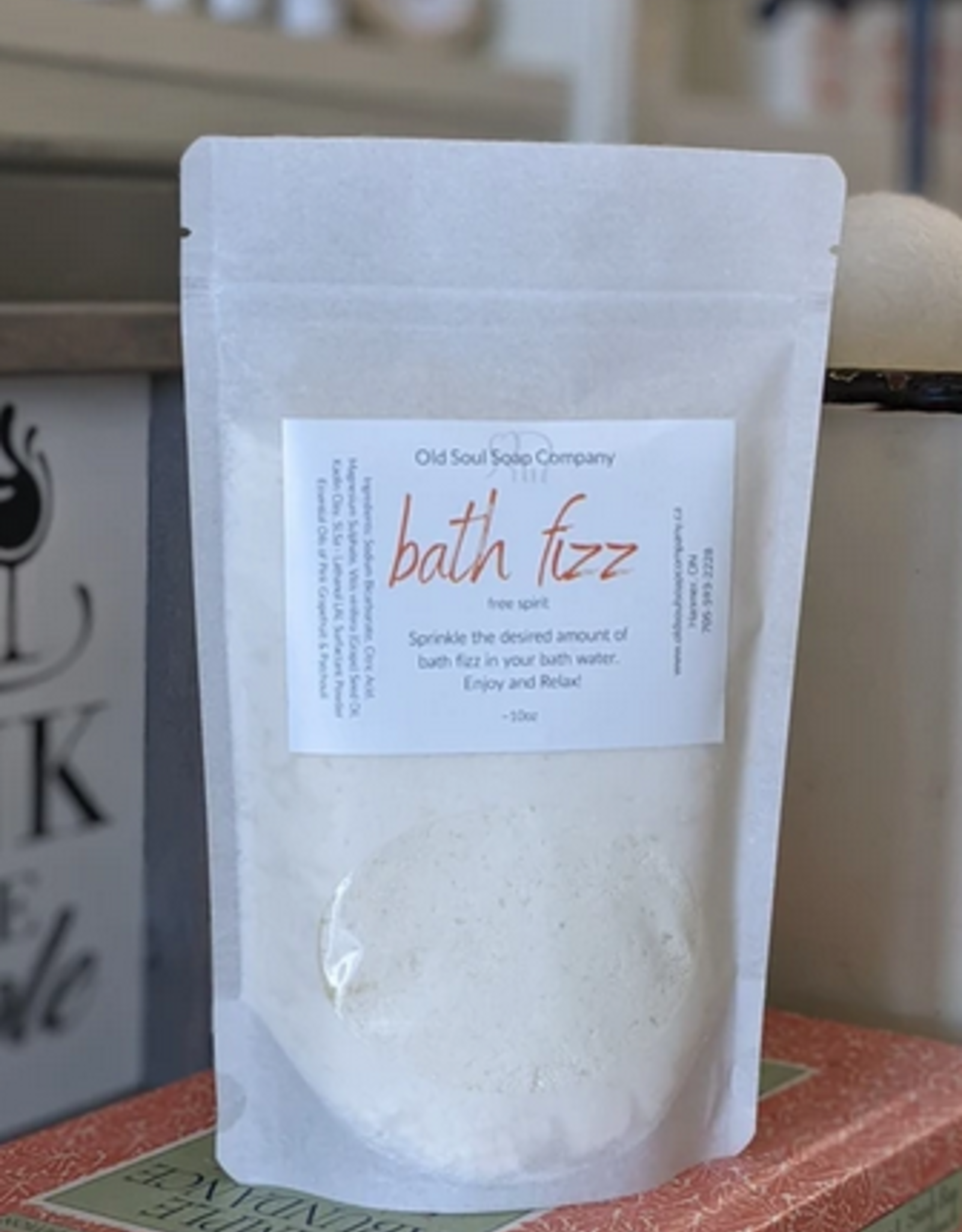 Old Soul Soap Company Bath Fizz