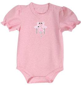 Creative Brands Pink Flamingo Snap Shirt 6-12 month