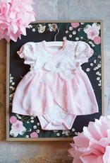 Creative Brands Pink Posies Dress 3-6 months