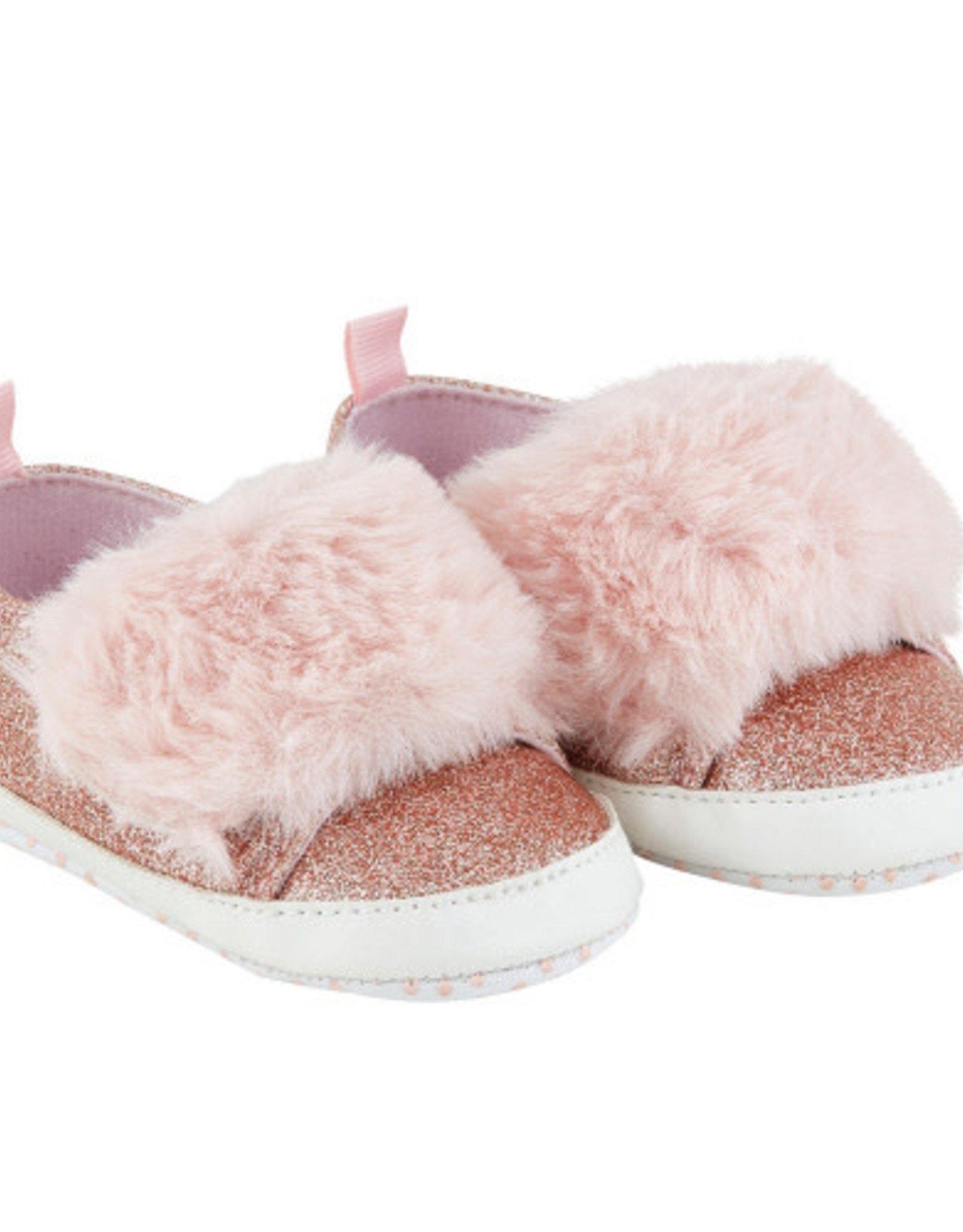 Creative Brands Pink Fur Shoe 6 - 12 month