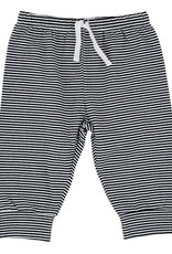 Creative Brands Black and White Stripe Pants 6-12 months