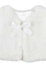 Creative Brands White Fur Vest 6 -18 month