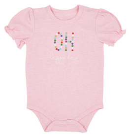 Creative Brands Oh Happy Day Snapshirt Onesie 6-12 months