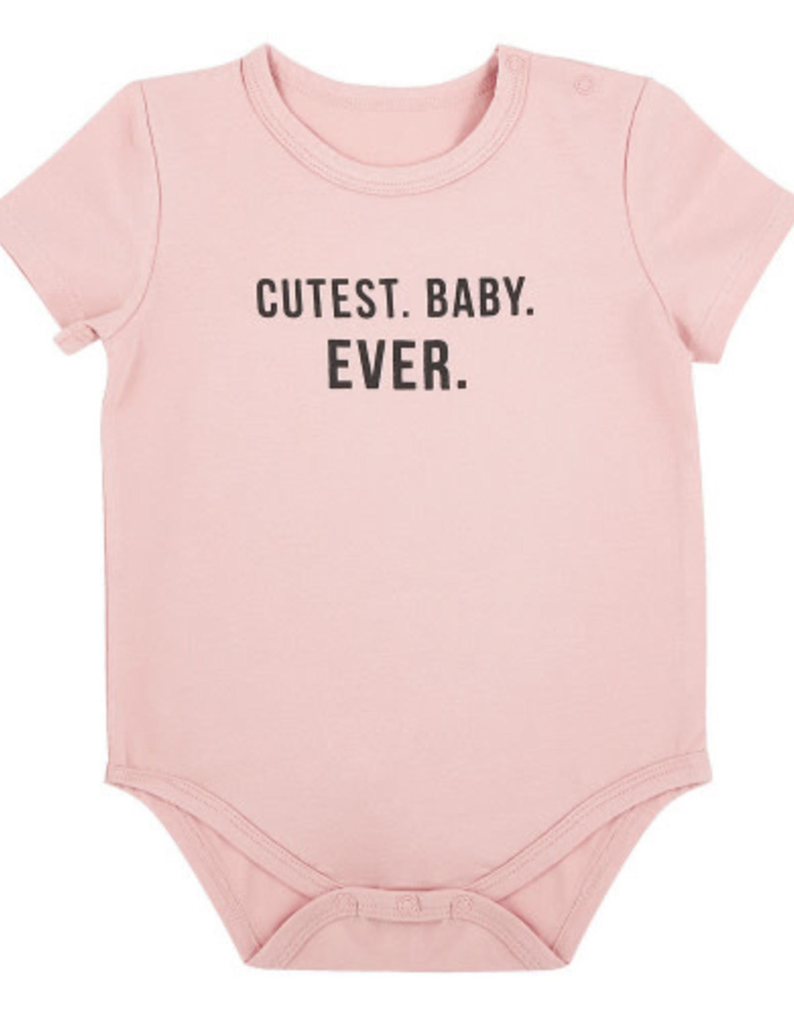 Creative Brands Cutest Baby Snapshirt Onesie