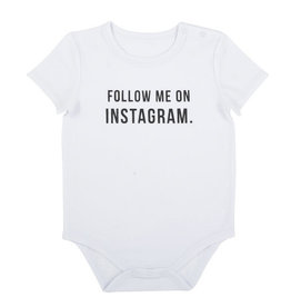 Creative Brands Follow Me Snapshirt Onesie