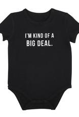 Creative Brands Big Deal Snapshirt Onesie 6-12 months
