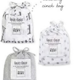 Creative Brands Swaddle Blanket with Matching Cinch Bag