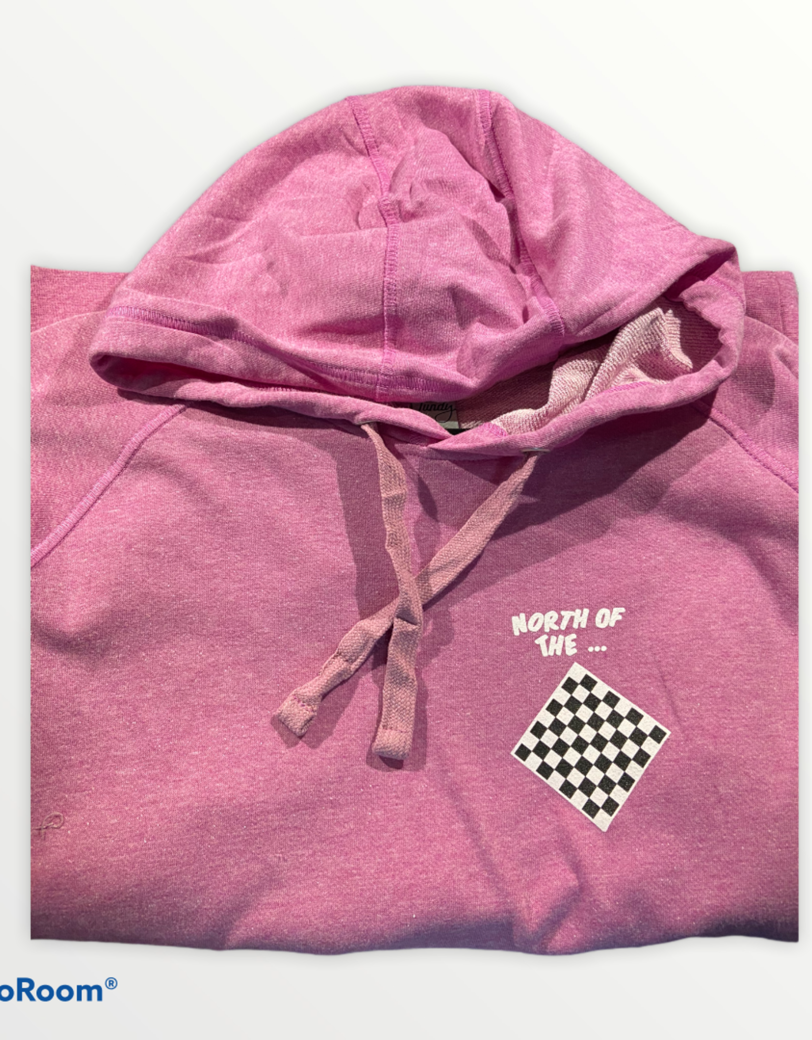 fundy Lightweight Unisex Hoodie North of the Checkerboard