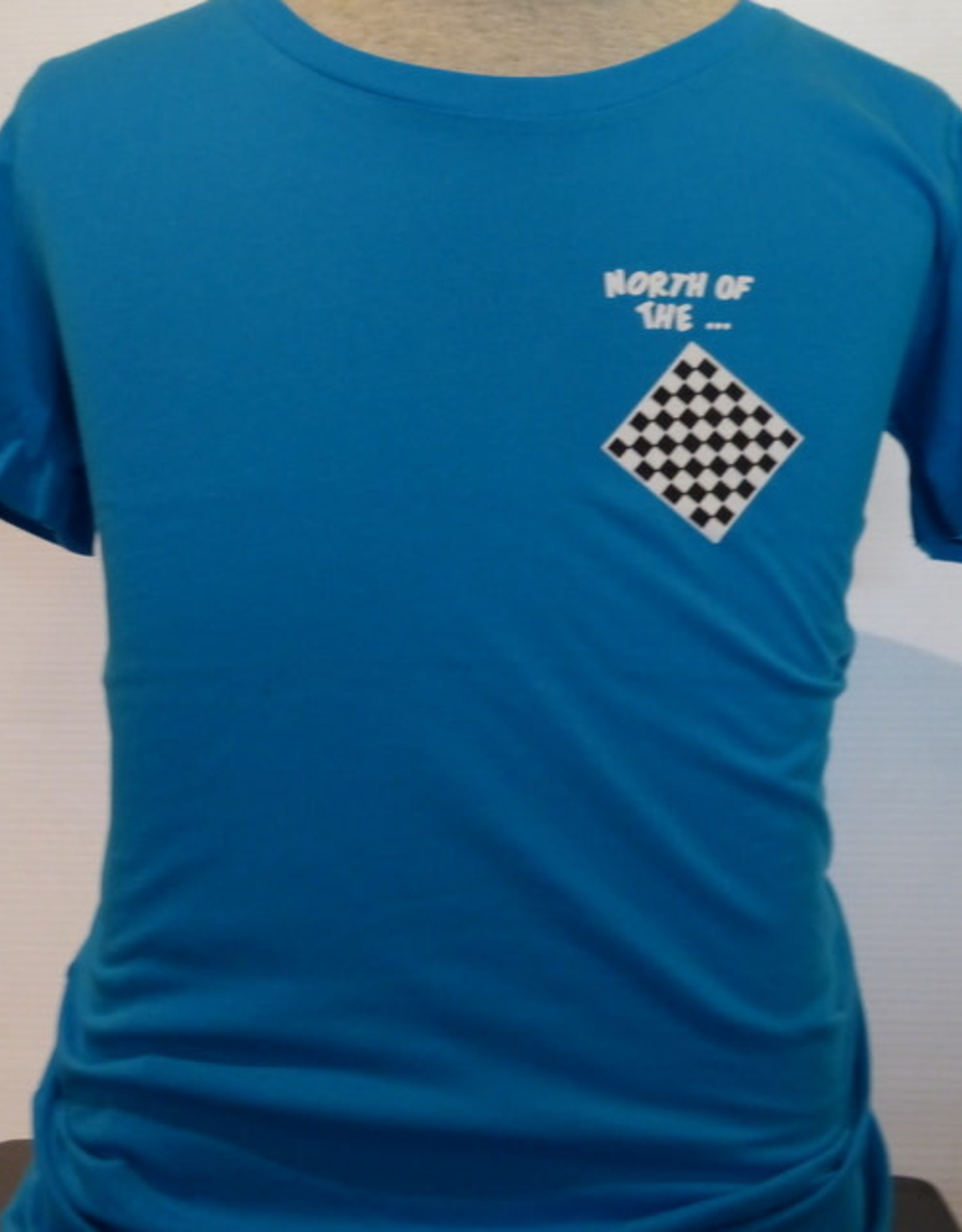fundy Ladies Scoop Neck Tee North of the Checkerboard