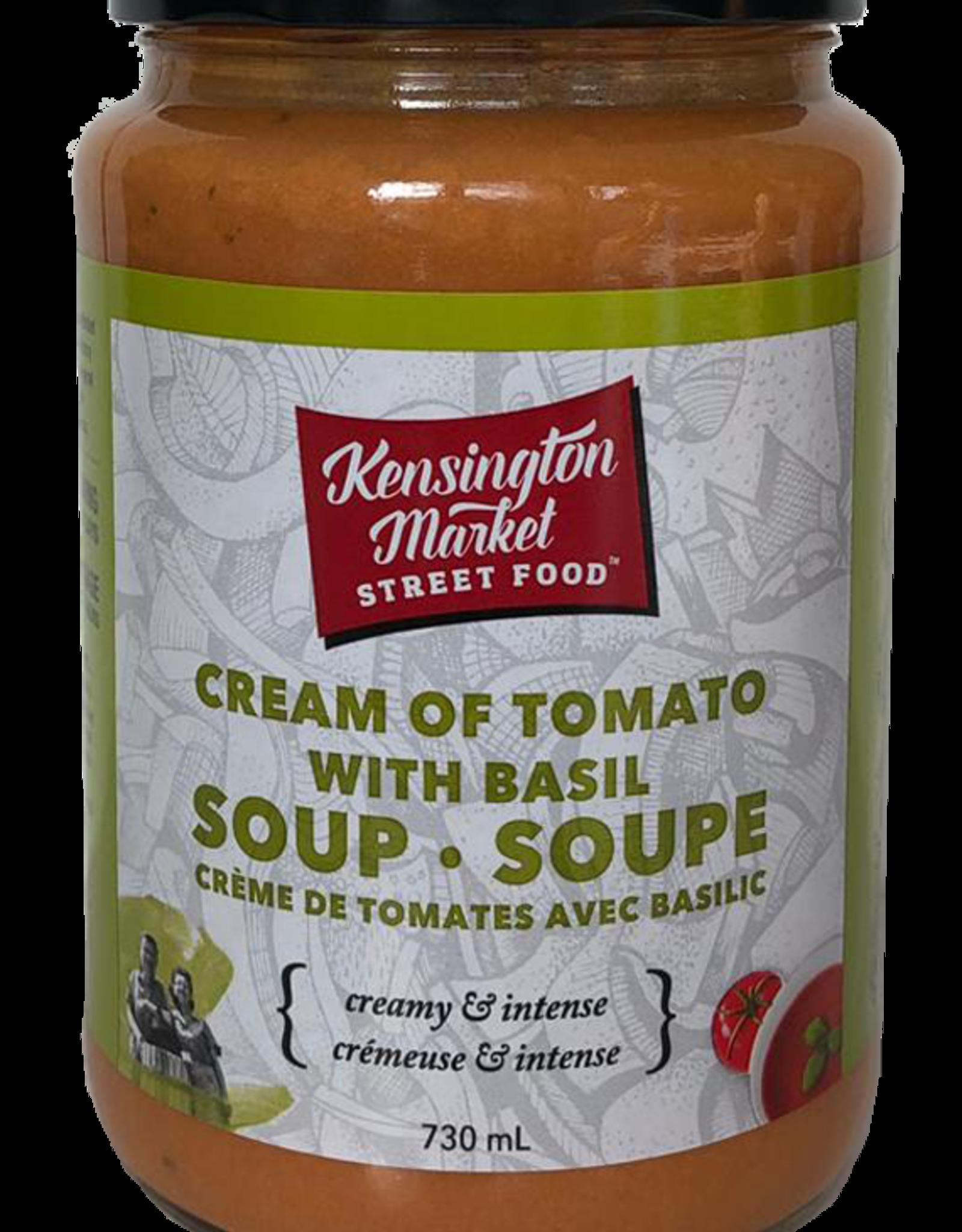 Kengsington Market Street Food Cream of Tomato with Basil Soup 730 ml