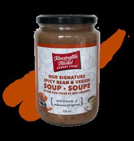 Kengsington Market Street Food Spicy Bean & Veggie Soup 730 ml