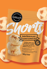 Cookie It Up Salted Butterscotch Bite Size Shortbread Cookies 140 gr