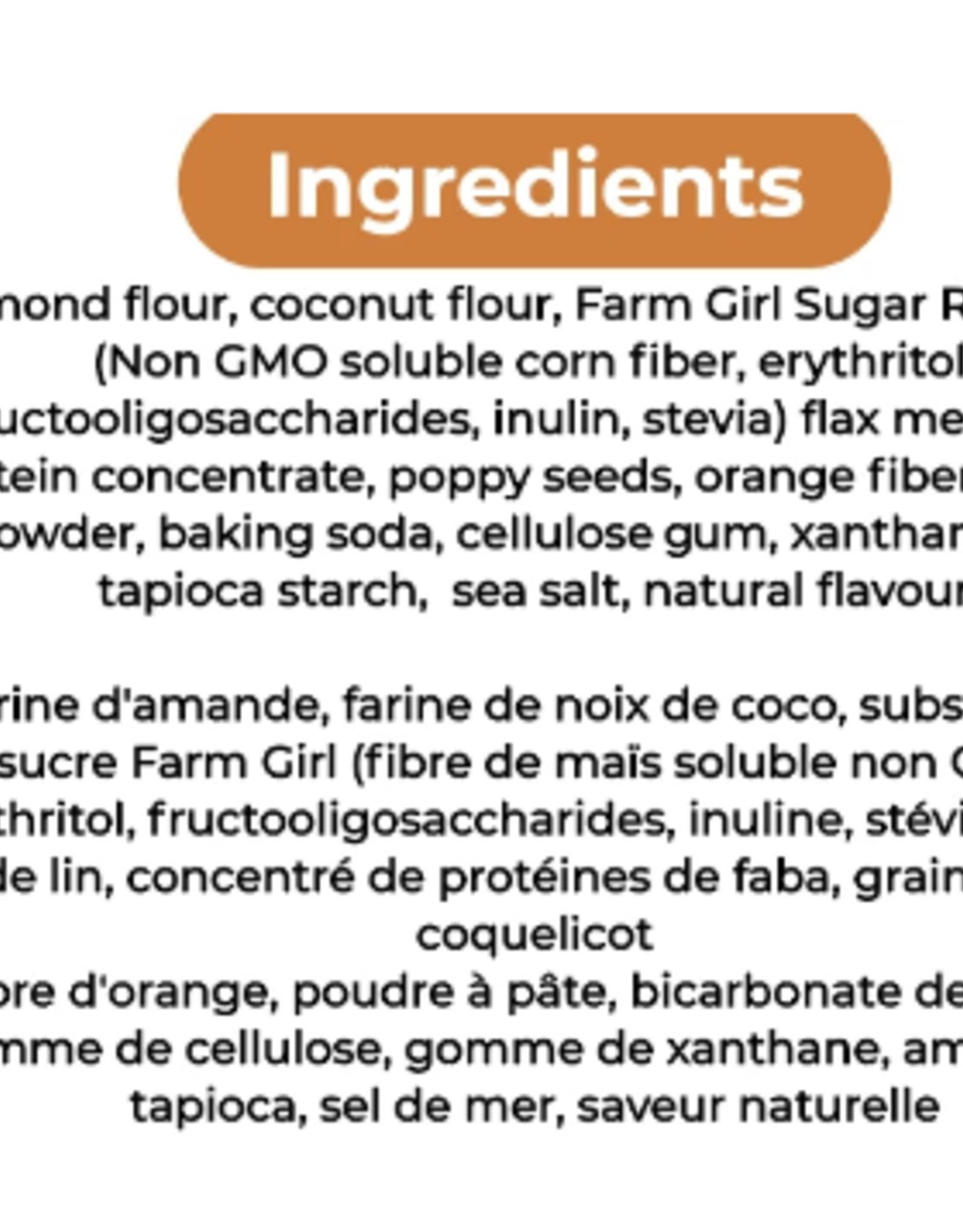 Farm Girl Lemon Poppy Seed Loaf Gluten Free