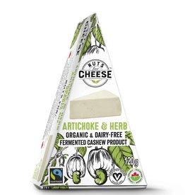 Nuts For Cheese Smoky Artichoke & Herb, Cashew Cheese, Vegan