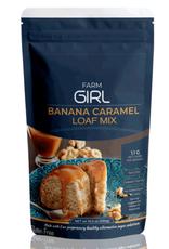 Farm Girl Caramel Banana Bread