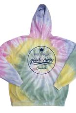 Jailbird Good Vibes Bruce Peninsula Tie Dye Sweatshirt Hoodie