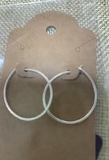 Shoreline Jewelry Sterling Silver Hoop Earrings