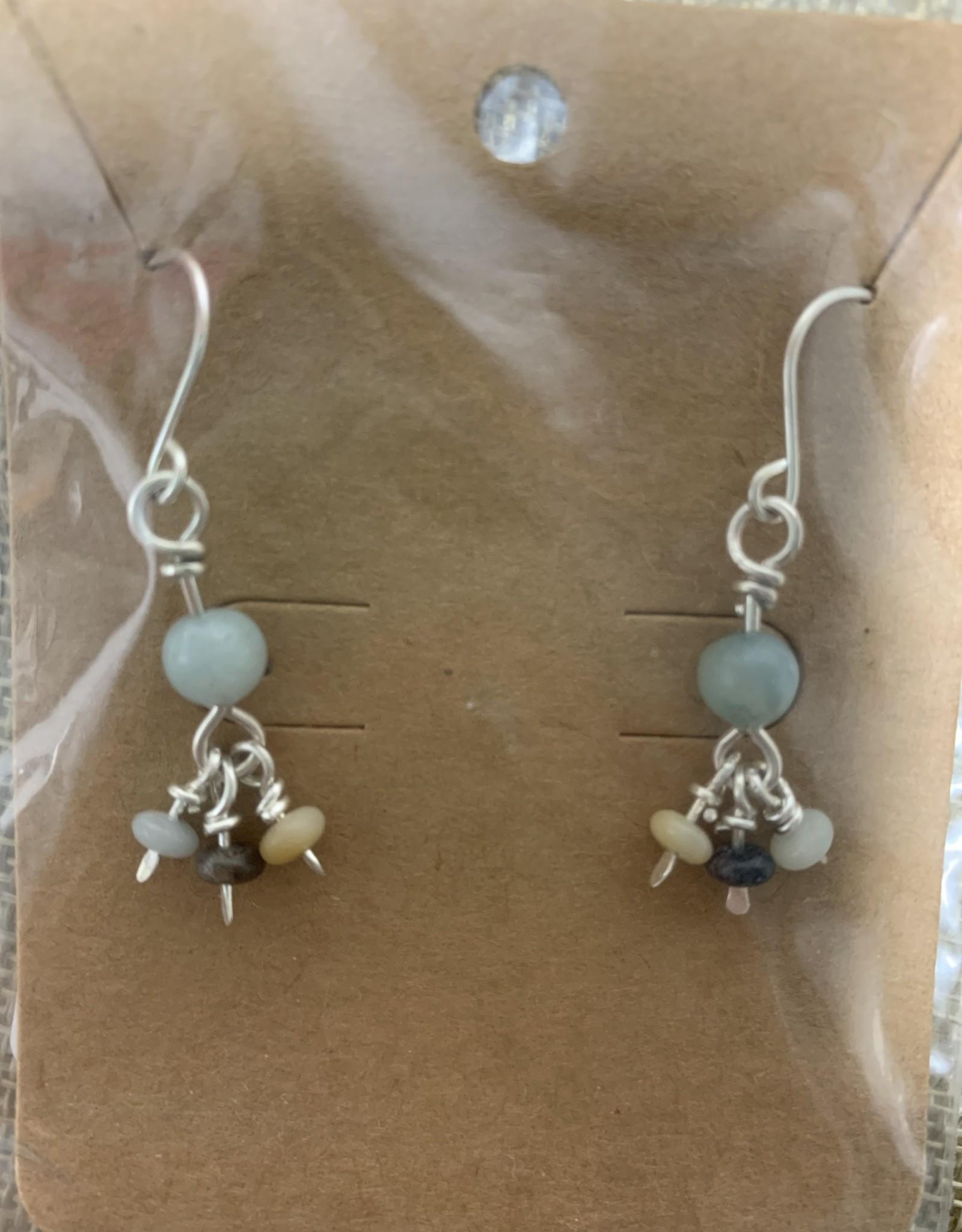 Shoreline Jewelry Amazonite & Sterling Silver Earrings