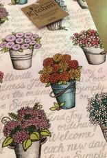 Live Simply Floral Dual Purpose Tea Towel