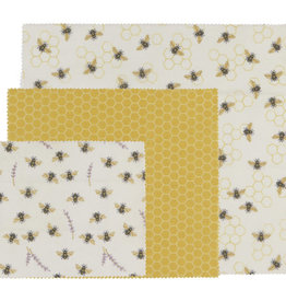 Bee's Beeswax Wrap set of 3
