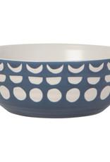 "Ceramic Imprint Bowl 6"" x 2.25"""