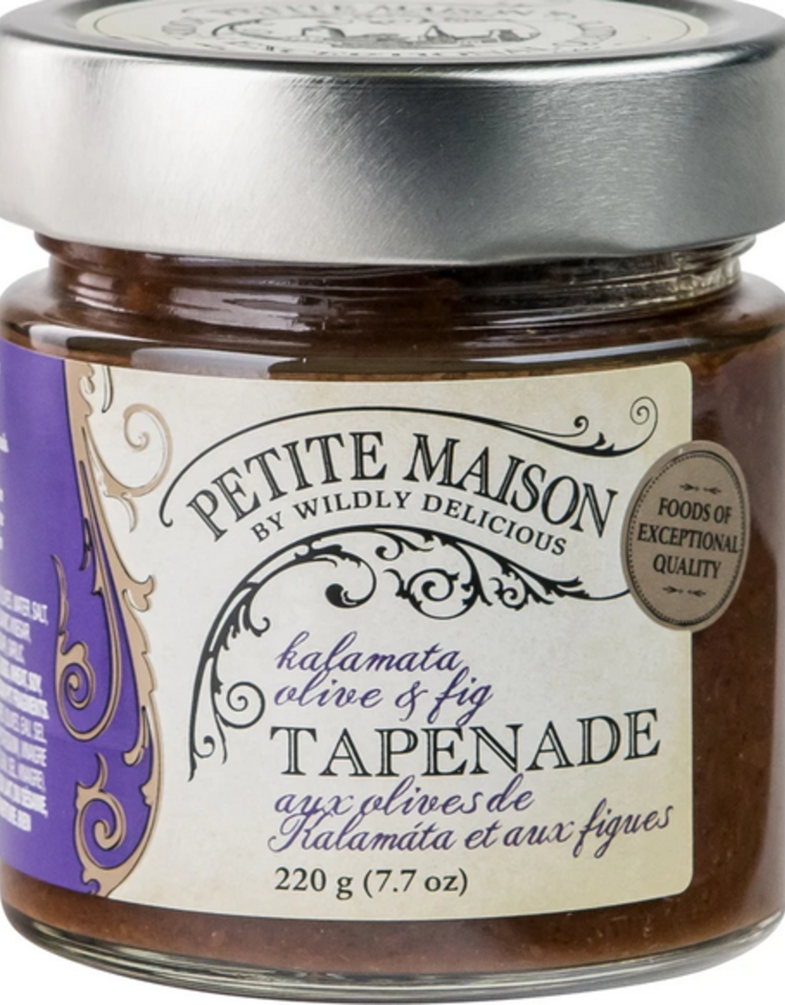 Wildly Delicious Kalamata Olive & Fig Tapenade