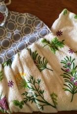 Herb Garden Hang Up Tea Towel