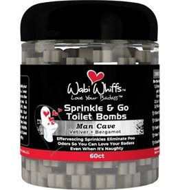 Wabi Wiffs Sprinkle and Go Toilet Bombs Man Cave