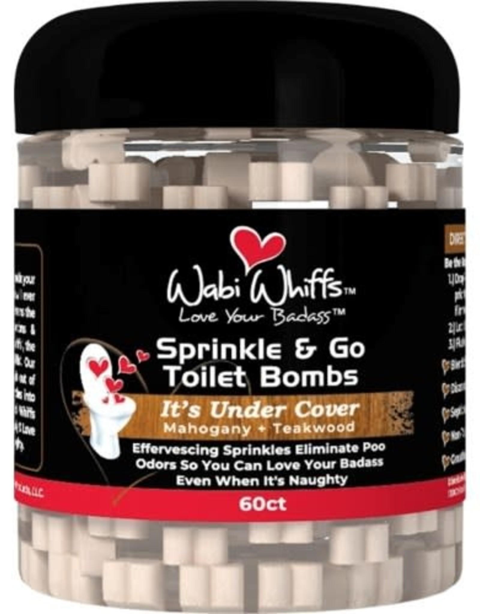 Wabi Wiffs Sprinkle & Go Toilet Bombs It's Under Cover