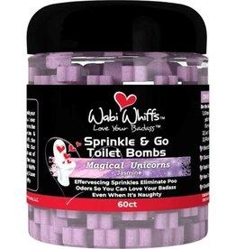 Wabi Wiffs Sprinkle & Go Toilet Bombs Magical Unicorns