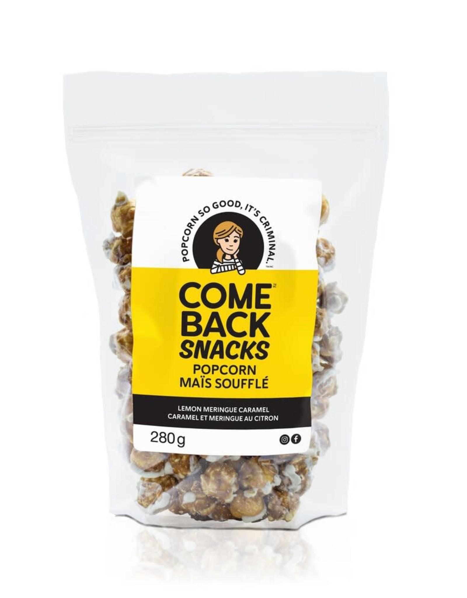 Comeback Snacks Lemon Meringue Caramel Popcorn